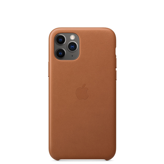 Picture of iPhone 11 Pro Max Leather Case Brown